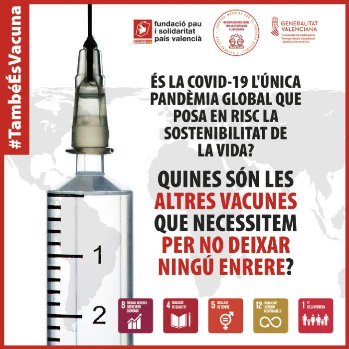 'Vacunes per no deixar ningú arrere': acció global per exigir treball decent